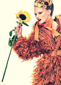 Vogue Japan-Sunflower